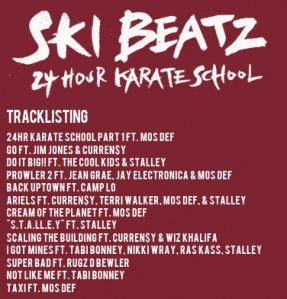 24 Hour Karate School Tracklist